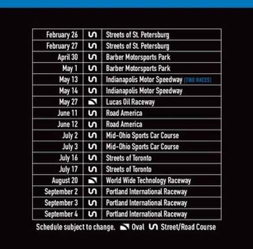 IndyPro2000 2022 schedule600