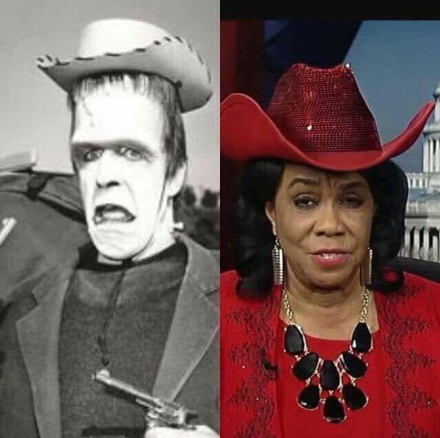Frederica-Wilson-and-Herman-Munster